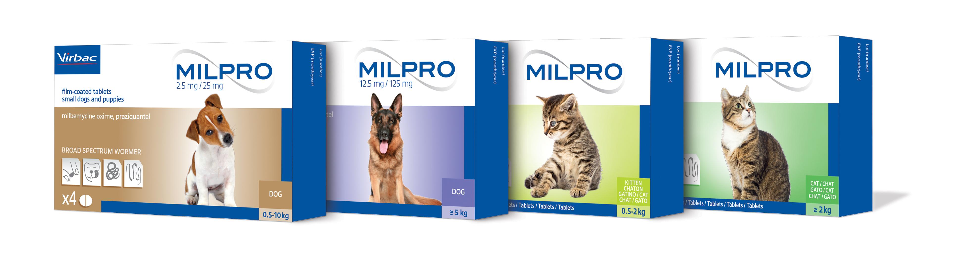 """Vaizdo rezultatas pagal užklausą """"MILPRO 12,5 mg/125 mg"""""""